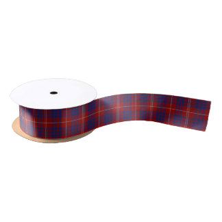 Clan Hamilton Tartan Ribbon Satin Ribbon
