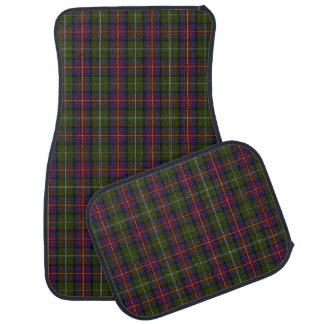 Clan Hargis Plaid Car Mat Set