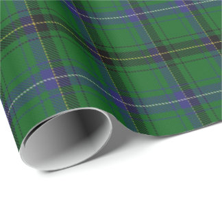 Clan Henderson Scottish Tartan Wrapping Paper