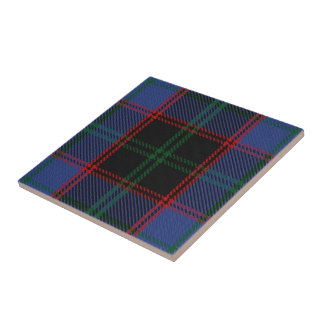 Clan Home Hume Scottish Expressions Tartan Small Square Tile