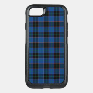 Clan Hume Tartan Royal Blue and Black Plaid OtterBox Commuter iPhone 8/7 Case