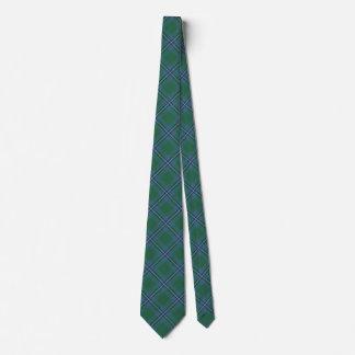 Clan Irvine Irwin Classic Tartan Tie