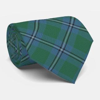 Clan Irvine Irwin Letter I Monogram Tartan Tie
