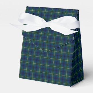 Clan Johnston Tartan Favour Box