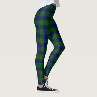 Clan Johnston Tartan Leggings