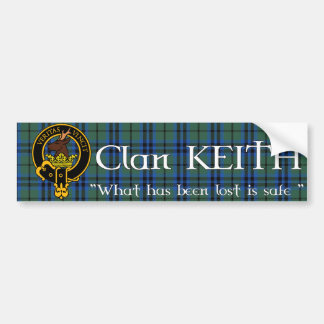 Clan Keith Bumper Sticker