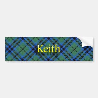Clan Keith Scottish Bumper Sticker