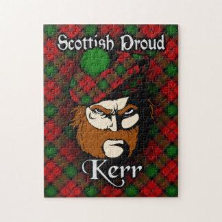Clan Kerr Scottish Proud Tartan Jigsaw Puzzle