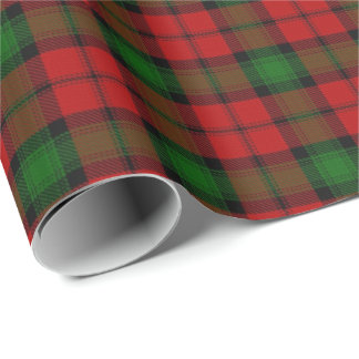 Clan Kerr Scottish Tartan Wrapping Paper