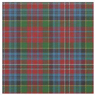 Clan Kidd Red Green Blue Scottish Tartan Plaid Fabric