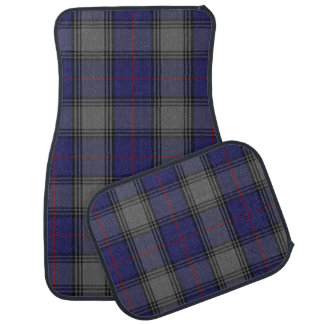 Clan Kinnaird Plaid Car Mat Set