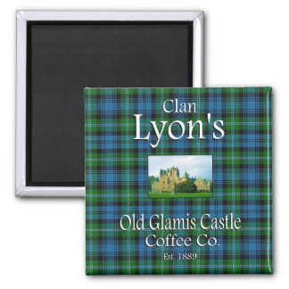 Clan Lyon's Old Glamis Castle Coffee Co. Magnet