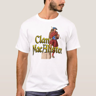 Clan MacAlister Highland Games Shirts