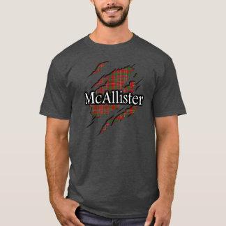 Clan MacAlister McAllister Tartan Spirit Shirt