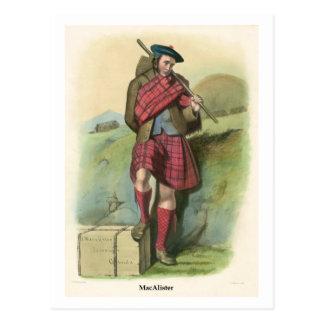 Clan MacAlister Postcard