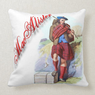 Clan MacAlister Scottish Dream Pillow