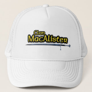 Clan MacAlister Scottish Inspiration Trucker Hat
