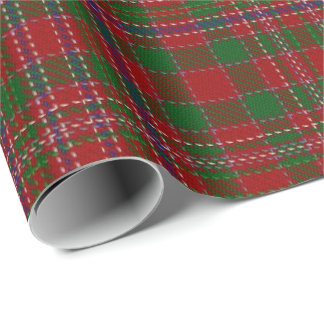 Clan MacAlister Scottish Tartan Wrapping Paper
