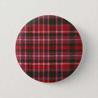 Clan MacAlister Tartan Button