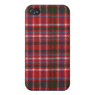 Clan MacAlister Tartan iPhone 4 Case