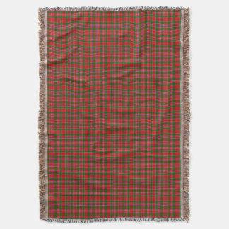 Clan MacAlister Tartan Throw Blanket