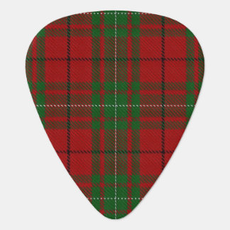 Clan MacAulay Sounds of Scotland Tartan Guitar Pick