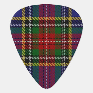 Clan MacBeth Sounds of Scotland Tartan Guitar Pick