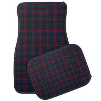 Clan MacCaughan Plaid Car Mat Set