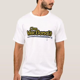 Clan MacDonald Inspired Scottish T-Shirt