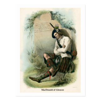 Clan MacDonald of Glencoe Postcard