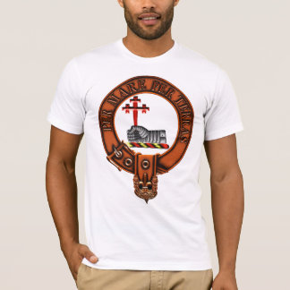 Clan MacDonald Of Sleat Family Crest and Targe T-Shirt