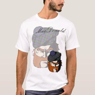 Clan MacDonald Scottish Warrior T-Shirt