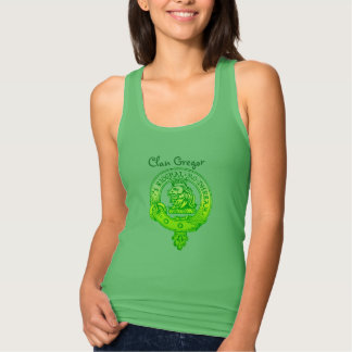 Clan MacGregor Tank Top Green
