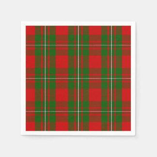 Clan MacGregor Tartan Disposable Napkin