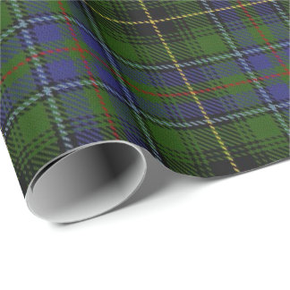 Clan MacInnes Scottish Tartan Wrapping Paper