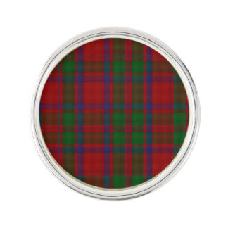 Clan MacIntosh Plaid Lapel Pin