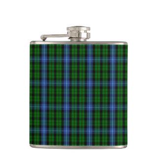 Clan MacIntyre Tartan Hip Flask