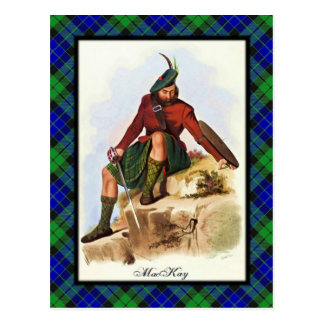 Clan MacKay Scottish Dreams Postcard