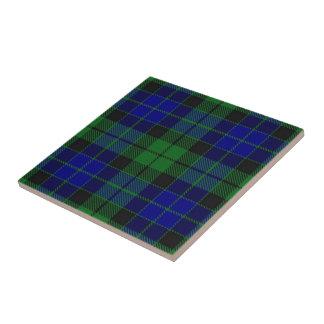 Clan MacKay Scottish Expressions Tartan Tile