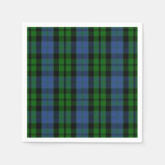 Clan MacKay Tartan Disposable Serviette