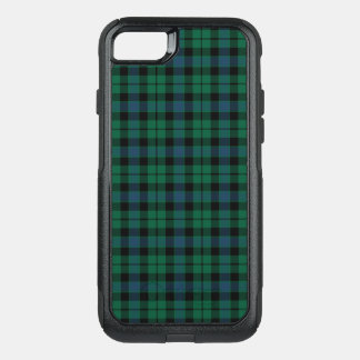 Clan MacKay Tartan Green, Blue, and Black Plaid OtterBox Commuter iPhone 8/7 Case