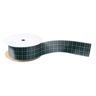 Clan Mackenzie Ancient Tartan Ribbon Satin Ribbon
