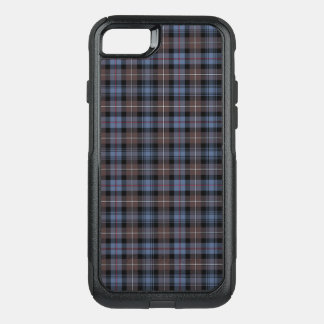 Clan Mackenzie Brown and Blue Reproduction Tartan OtterBox Commuter iPhone 7 Case