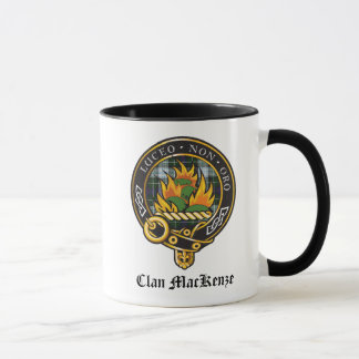 Clan MacKenzie Crest Mug