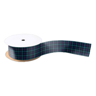 Clan Mackenzie Modern Tartan Ribbon Satin Ribbon