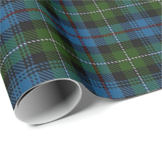 Clan MacKenzie Scottish Tartan Wrapping Paper