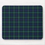 Clan Mackenzie Tartan Mouse Pad