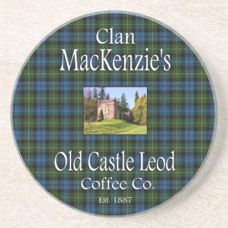 Clan MacKenzie's Old Castle Leod Coffee Co. Coaster