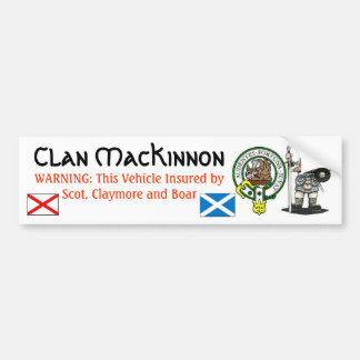Clan MacKinnon Bumper Sticker-1 Bumper Sticker