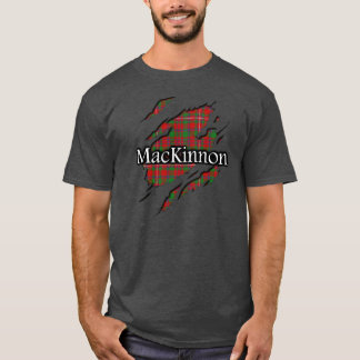 Clan MacKinnon Tartan Spirit Shirt